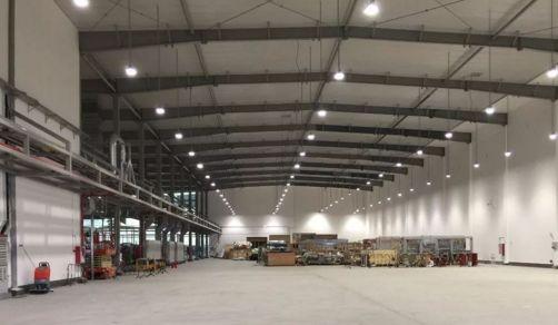 阳光照明中标世界100强大型跨国企业—百威啤酒2个厂区智能照明项目清灰机